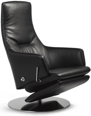 Relaxfauteuil Volo Bela, uit de fauteuil collectie van Gealux, oogstrelend modern design met een subliem zitcomfort