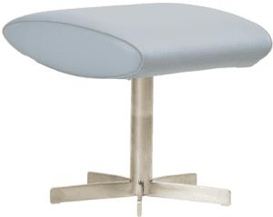 Relaxfauteuil Volo Hocker, uit de fauteuil collectie van Gealux, oogstrelend modern design met een subliem zitcomfort