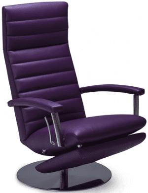 Relaxfauteuil Volo Max, uit de fauteuil collectie van Gealux, oogstrelend modern design met een subliem zitcomfort