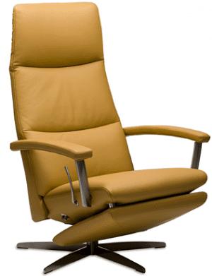 Relaxfauteuil Volo Monte, uit de fauteuil collectie van Gealux, oogstrelend modern design met een subliem zitcomfort