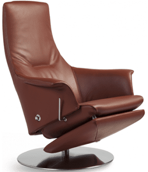 Relaxfauteuil Volo Nova, uit de fauteuil collectie van Gealux, oogstrelend modern design met een subliem zitcomfort