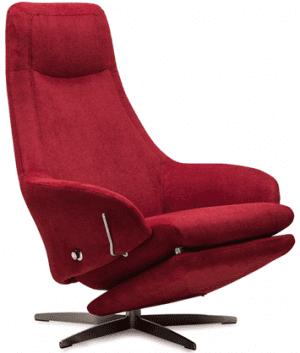 Relaxfauteuil Volo Tinker, uit de fauteuil collectie van Gealux, oogstrelend modern design met een subliem zitcomfort