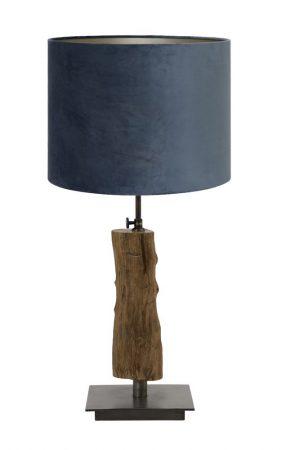 tafellamp + kap velours IN.HOUSE Accessoires Lowik Wonen & Slapen
