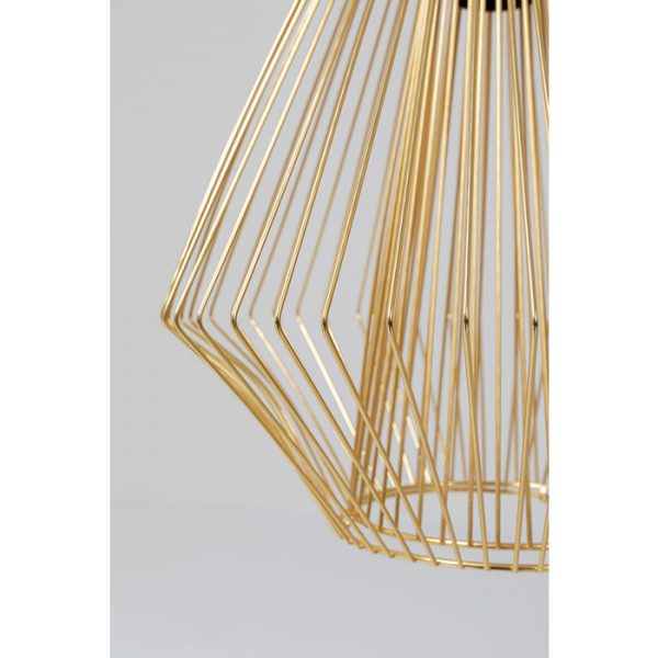 Kare Design Modo Wire Gold hanglamp 52531 - Lowik Meubelen