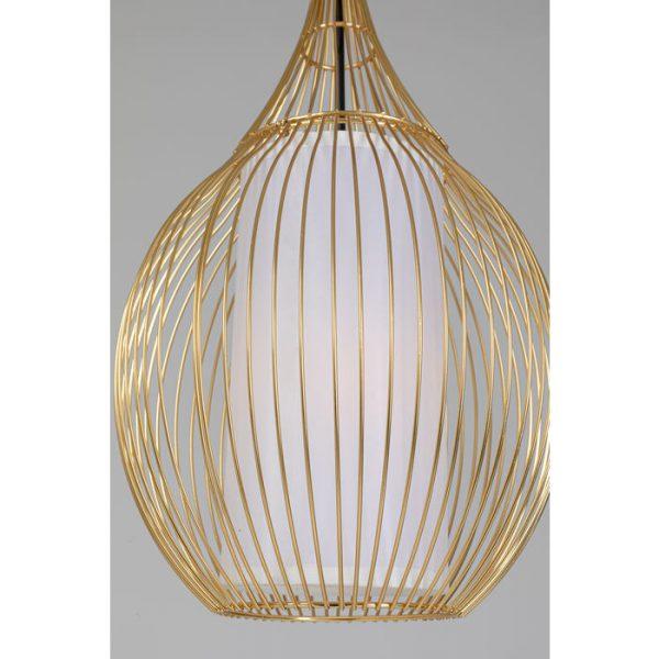 Kare Design Hanglamp Swing Iron Tre Gold hanglamp 52534 - Lowik Meubelen