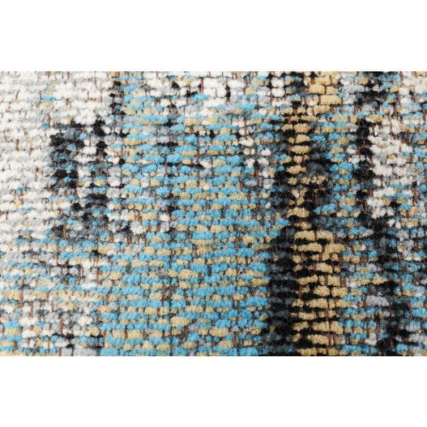 Karpet Abstract Light Blue 300x200cm 66719 A real earthy treasure! On the one hand this carpet is very reserved, on the other hand, it skilfully creates a warm atmosphere in the room with its interesting play of colours - and while adding the right dose of individuality. Classically woven in cotton, it creates a casual contrast to plank and parquet floors. Kare Design