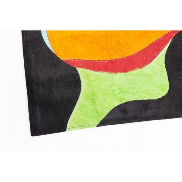 Karpet Beauty Pop 240x170cm 52059 Bovenzijde: 100% Echt bont Koeienhuid, Achterkant: 100% Wol, Handgemaakt, Stomerij Kare Design