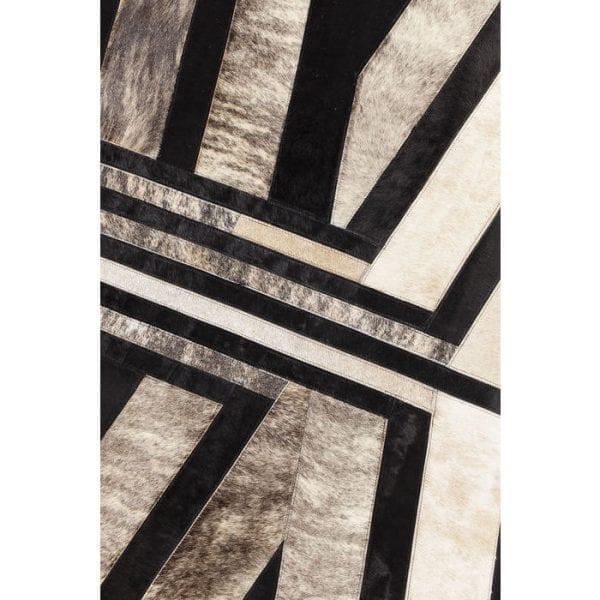 Karpet Modern Inca 240x170cm 52063 Bovenzijde: 100% Echt bont Koeienhuid, Achterkant: 100% Wol, Handgemaakt, Stomerij Kare Design