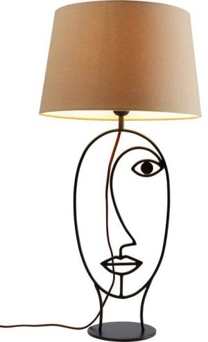 Kare Design Face Wire Nature tafellamp 52452 - Lowik Meubelen