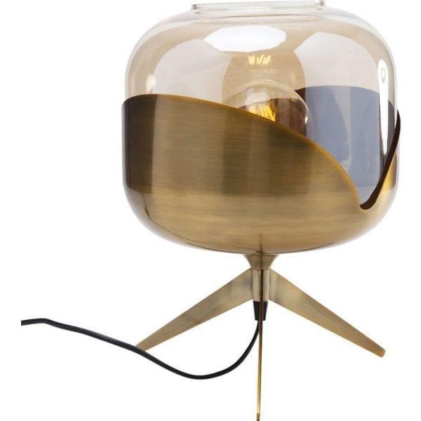 Table Lamp Golden Goblet Ball 67666  Kare Design
