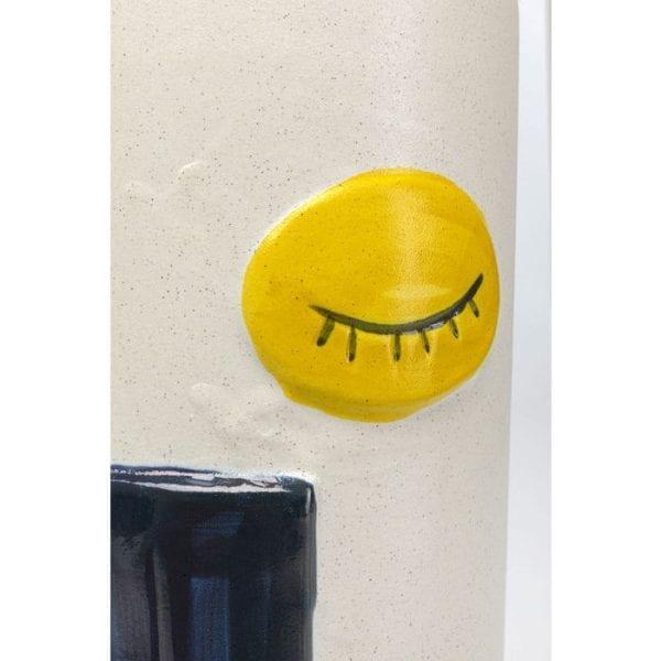 Kare Design Art Face Colore 33cm vaas 51685 - Lowik Meubelen