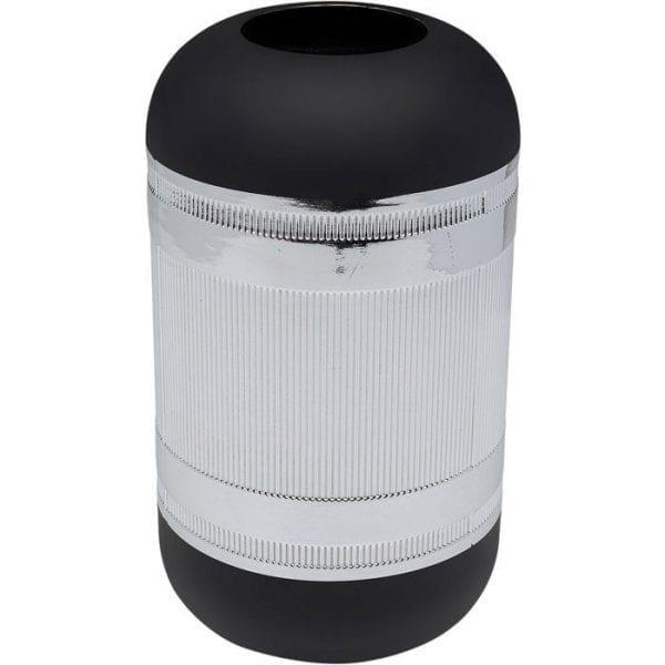 Kare Design Cap Silver 30cm vaas 51637 - Lowik Meubelen