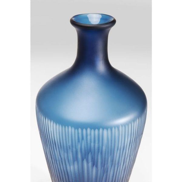Vaas Cutting Blue Taille 60953 glas gekleurd Kare Design