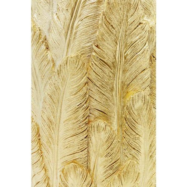 Kare Design Feathers Gold 80cm vaas 51559 - Lowik Meubelen