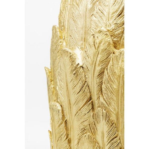 Kare Design Feathers Gold 91cm vaas 51560 - Lowik Meubelen