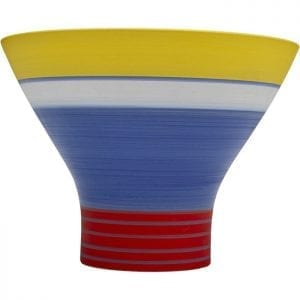 Kare Design Happy Day Blue 18cm vaas 51600 - Lowik Meubelen