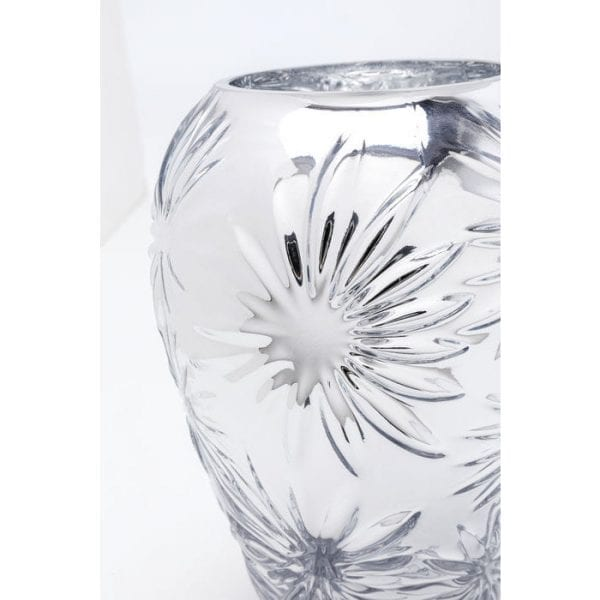 Kare Design Ice Flowers 21cm vaas 51634 - Lowik Meubelen