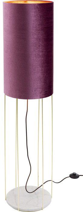 Kare Design Cafeteria Lounge Purple 135cm vloerlamp 52477 - Lowik Meubelen
