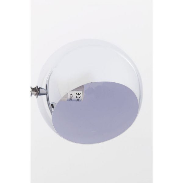 Kare Design Calotta Chrome vloerlamp 69841 - Lowik Meubelen