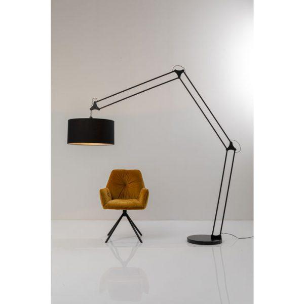 Kare Design Geometry Black vloerlamp 52468 - Lowik Meubelen