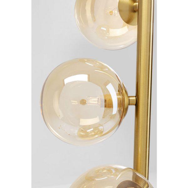 Kare Design Scal Balls Brass 160cm vloerlamp 52509 - Lowik Meubelen