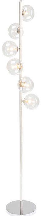 Kare Design Scal Balls Chrome 160cm vloerlamp 52510 - Lowik Meubelen