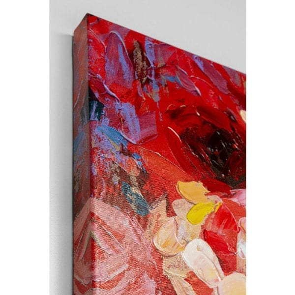 Kare Design Touched Red Eye Lady 90x140cm wanddecoratie 51582 - Lowik Meubelen