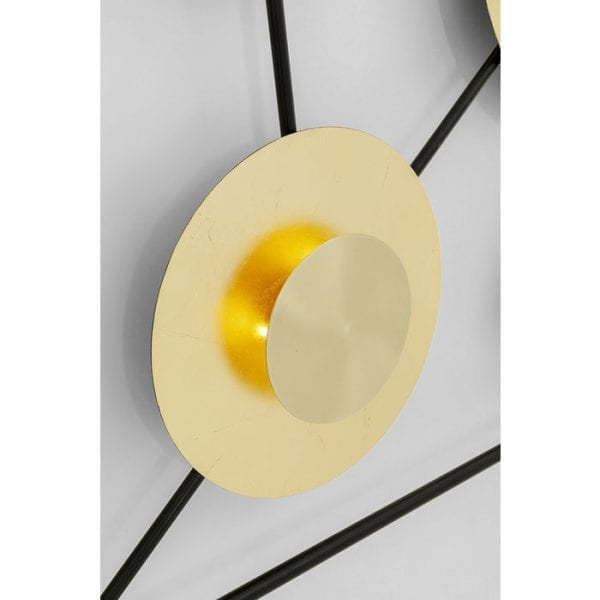Kare Design Disc 6light wandlamp 52524 - Lowik Meubelen