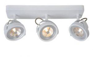 Tala Led plafondspot uit de collectie van Lucide, uitvoering: LED Dimb. - G53 (AR111) - 3x12W 2700K - Modern - 31930/36/31