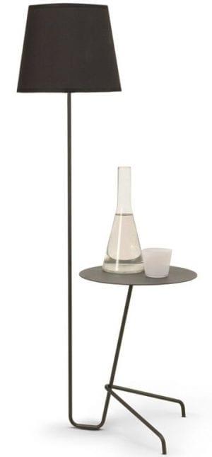 Arthur bijzettafel met vloerlamp - bijzonder design van Moome meubelen