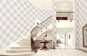 Behang Anemoon Vliesbehang, geleverd op 1 rol van 53 cm x 10 meter; 53 cm gelijk/aansluitend patroon.  Voorbeeld berekening patroon  Kamer is 2,60 meter hoog en 5 meter breed. Patroon is 53 cm. Bij 2,60 meter hoog haal je 3 banen uit een 10 meter rol (10 gedeeld door 2,60 is 3,8 afgerond 3). De kamer is 5 meter breed. We rekenen voor het gemak met een baanbreedte van 50 cm (i.p.v. 53cm). 500 wordt gedeeld door 50. Dit zijn dus 10 banen die je nodig hebt. Als je 3 banen uit een rol haalt, dan heb je dus 10:3 is 4 rollen nodig. Accessoires Profijt Meubel Lowik Meubelen