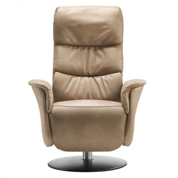De maximale belastbaarheid van de relaxfauteuil bedraagt 120kg.