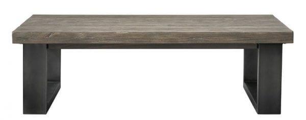 Salontafel Alesio 141x80 pine antiek grey Tafels Pronto Wonen Lowik Meubelen