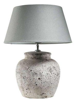 Tafellamp Stradella in keramiek ijsblauw kap_Accessoires_Pronto Wonenlowikmeubelen