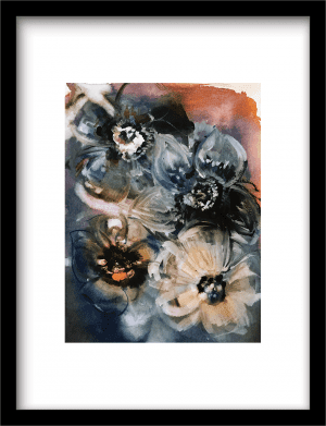 Fiori Giganti wandkleed Urban Cotton, design  - Fine Art Paper
