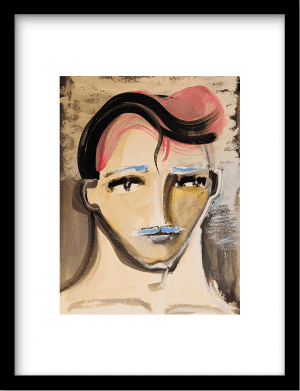 Signor Suave wandkleed Urban Cotton, design  -  Fine Art Paper