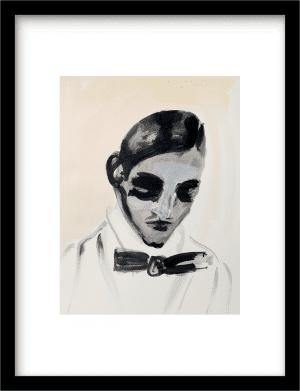 The Count wandkleed Urban Cotton, design  - Fine Art Paper