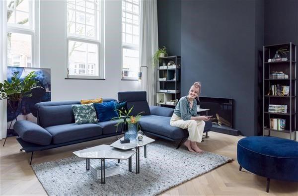 Glasgow set van 2 salontafels 71 x 52 cm   XOOON Lowik Wonen & Slapen