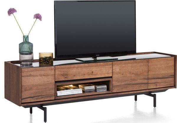 Halmstad Lowboard 190 Cm - 3-Deuren + 1-Lade + 1-Niche Xooon Kasten > TV meubelen 40699BRL