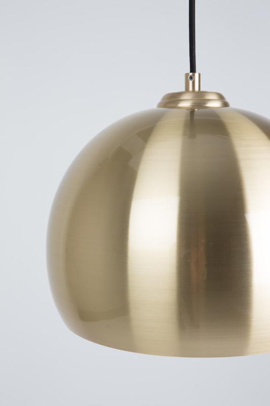 Hanglamp Big Glow Brass modern design uit de Zuiver meubel collectie - 5300081