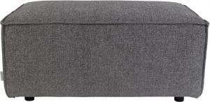 Hocker King Dark Grey modern design uit de Zuiver meubel collectie - 3300026