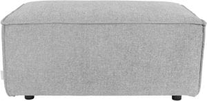 Hocker King Grey modern design uit de Zuiver meubel collectie - 3300025