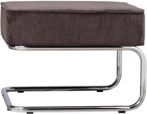 Hocker Ridge Rib Grey 6A modern design uit de Zuiver meubel collectie - 3300002