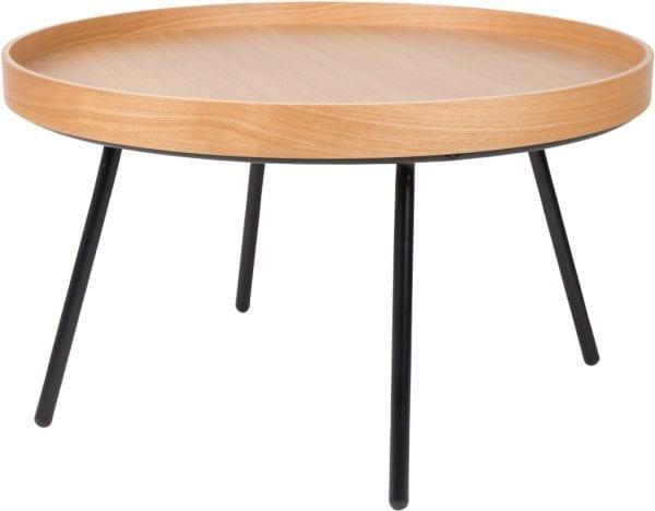 Salontafel Oak Tray modern design uit de Zuiver meubel collectie - 2200009