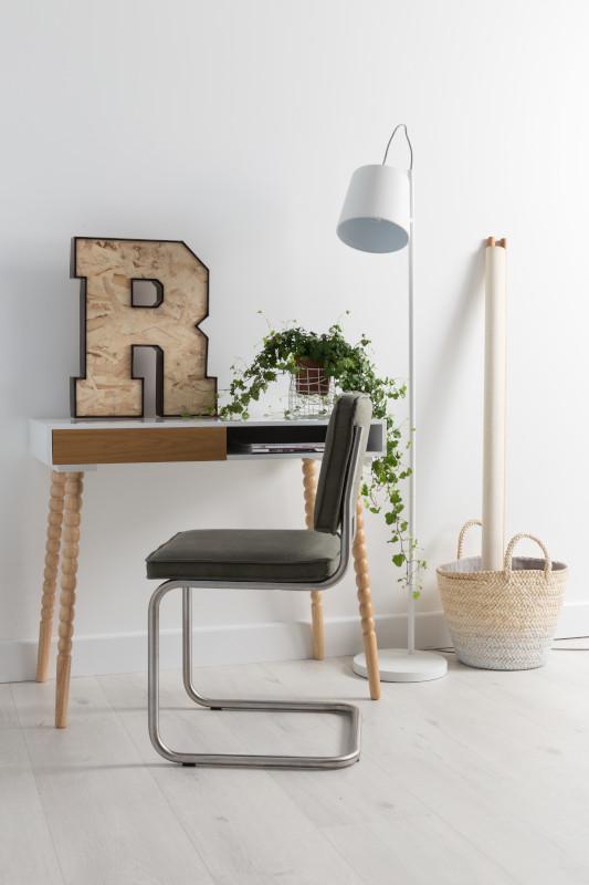 Vloerlamp Buckle Head White modern design uit de Zuiver meubel collectie - 5002039