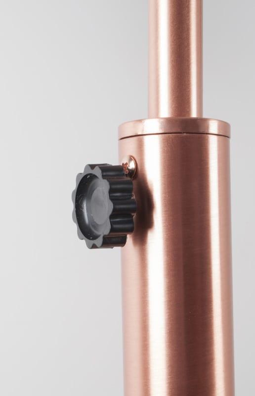 Vloerlamp Metal Bow Copper modern design uit de Zuiver meubel collectie - 5100022