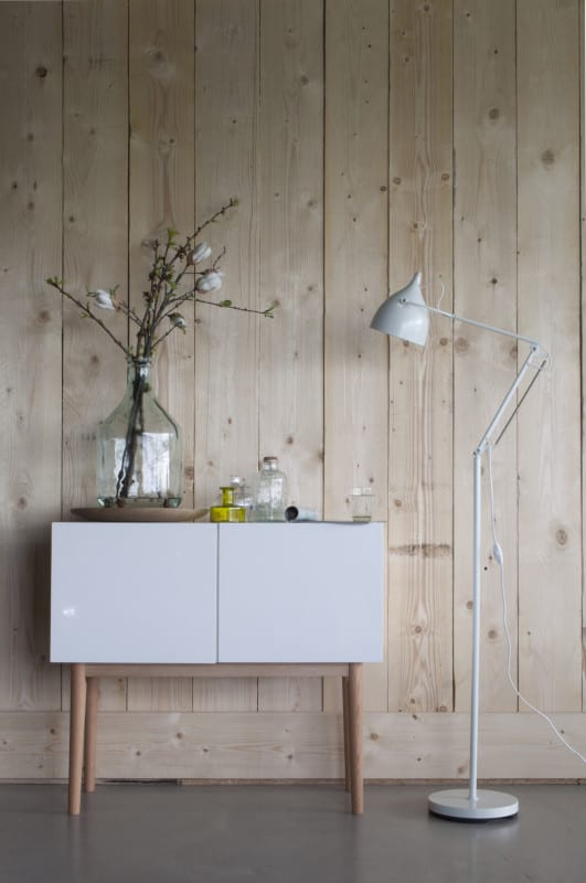 Vloerlamp Reader Matt White modern design uit de Zuiver meubel collectie - 5100001