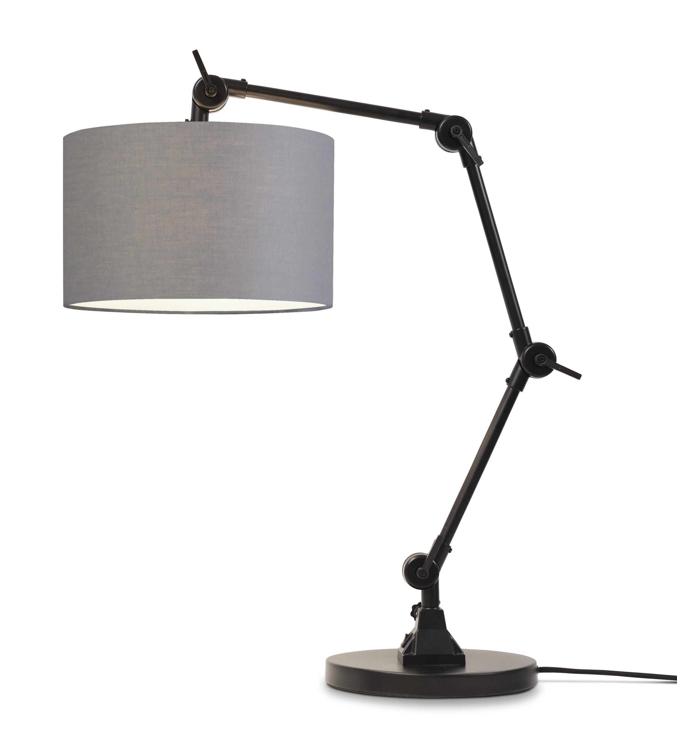 Tafellamp Amsterdam - Black/Light Grey