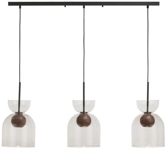 Skylar hanglamp 3-lamps - antraciet Coco Maison LIGHTING Lowik Wonen & Slapen