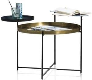 salontafel Dalma - 64 x 80 cm Coco Maison SMALLFURN Lowik Wonen & Slapen